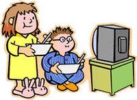 Kidseatingtelevision